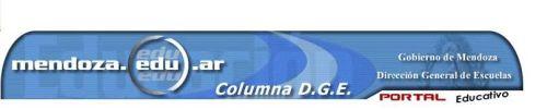BUENA NOTICIA: Publicaron el Weblog de Nuestra Escuela en el Portal Educativo: mendoza.edu.ar