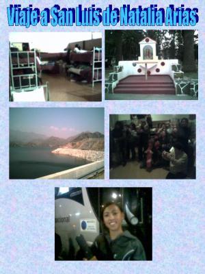 Fotos de Recuerdo del viaje a San Luis de Natalia Arias al Parlamento Nacional Infantil
