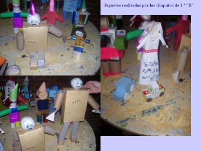 """¡ A construir ! Los juguetes de 1 año """"B"""""""