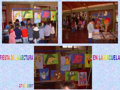 FIESTA DE LA LECTURA  EN LA ESCUELA    II