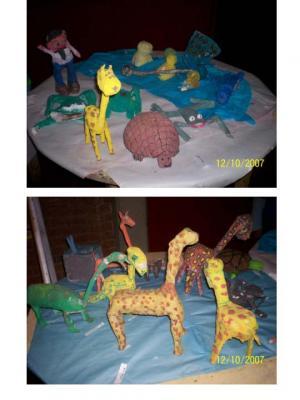 """Exposición de Educación Plástica: """"Los animales"""""""
