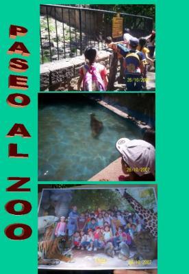 Conocimos el zoológico....