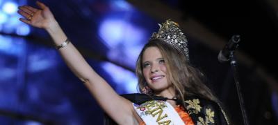 Wanda Silvina Kaliciñski, de Las Heras, es la Reina Nacional de la Vendimia 2012