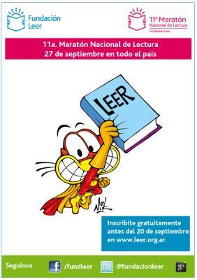 11a Maratón Nacional de la Lectura - Fundación Leer